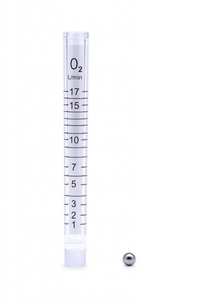 Rurka rotametryczna dozownika tlenu DTM z pływakiem