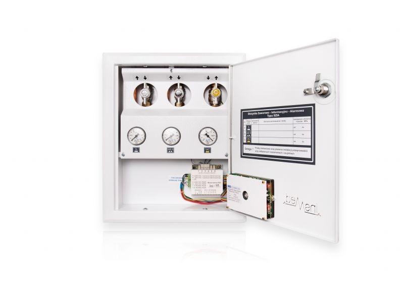 Skrzynka zaworowo-informacyjno-alarmowa SZIAN-2