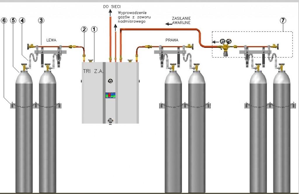 TRI - 30m3/h z zasilaniem awaryjnym (TRI-ZA-30)